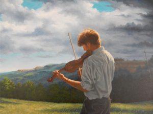 Jeff Chapman-Crane painting